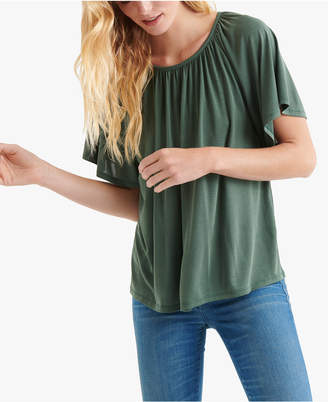 Lucky Brand Shirred T-Shirt