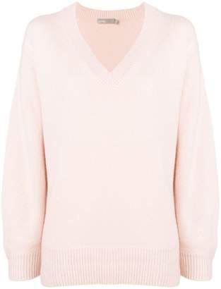 Vince v-neck boxy sweater