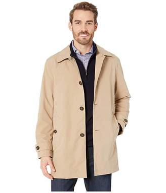 Cole Haan Stand Collar Rain Jacket with Back Hem Vent