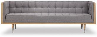 808 Home Woodrow Mid-Century Modern Box Sofa