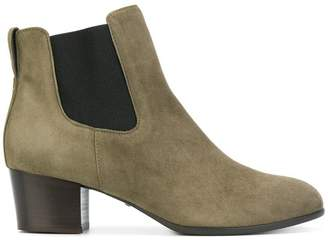 Hogan heeled fitted boots