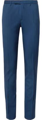 Boglioli Navy Slim-Fit Virgin Wool Suit Trousers