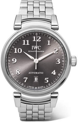 IWC SCHAFFHAUSEN - Da Vinci Automatic 40mm Stainless Steel Watch - Silver