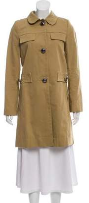 See by Chloe Button-Up Knee-Length Coat