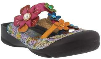 Spring Step L`Artiste by Leather Sandals - Icaria