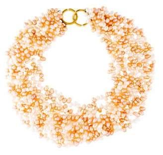 a08335ba3 Tiffany & Co. 18K Paloma Picasso Pearl Bead Necklace