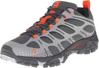 Merrell Men's MOAB Edge Hiking Shoes, Black/Grey