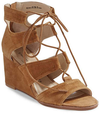 Chinese Laundry Ghillie Wedge Sandals