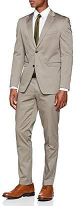 Esprit Men's 038eo2m004 Slim Fit Suit,(Manufacturer Size: 102)