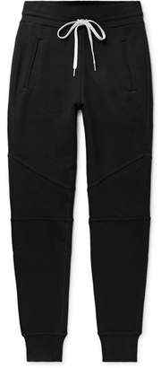 John Elliott Escobar Slim-Fit Tapered Loopback Cotton-Jersey Sweatpants