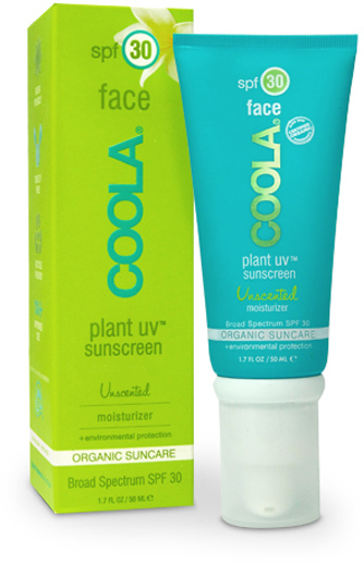 Coola Plant UV Face SPF30 Unscented Moisturizer