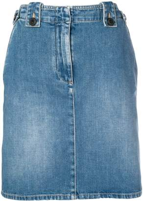Givenchy knee-length denim skirt