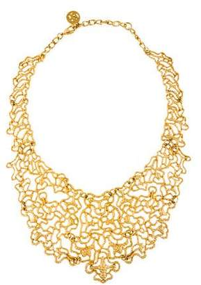 Ben-Amun Ben Amun Open Work Bib Necklace