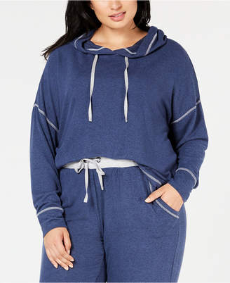 Alfani Plus Size Brushed Hacci Knit Hoodie, Created for Macy's