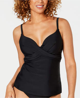 Island Escape Puerto Azul Push-Up Underwire Tankini Top