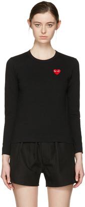 Comme des Garçons Play Black Heart Patch Shirt $110 thestylecure.com
