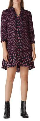 Whistles Isabella Print Shirt Dress