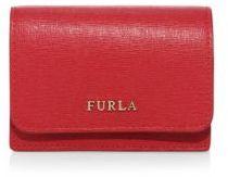 Furla Babylon Leather Business Card Case $88 thestylecure.com