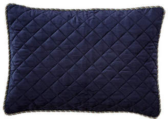 "Legacy Velvet Quilted Pillow, 14"" x 20"""