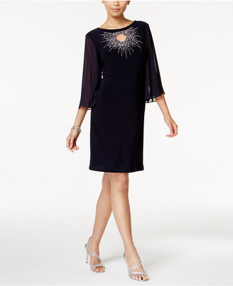 MSK Embellished Keyhole Starburst Dress $89 thestylecure.com