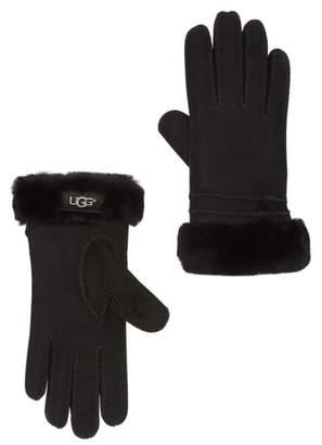 UGG Genuine Dyed Shearling Bronte Gloves