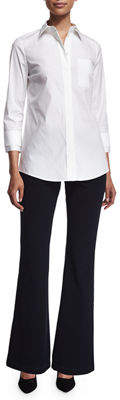 Lafayette 148 New York Suffolk Flared Pants