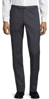 Incotex Slim-Fit Flat-Front Pants