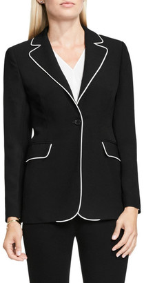 Vince Camuto Contrast Piping Blazer $179 thestylecure.com