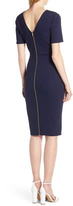 Ali & Jay Zip Back Sheath Dress
