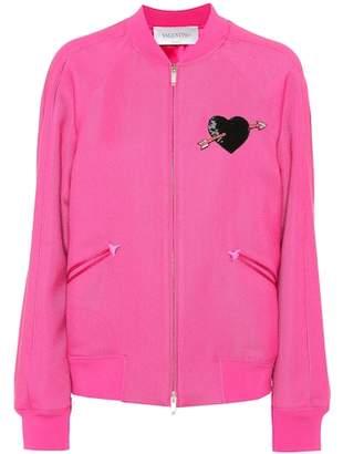 Valentino Embellished track jacket