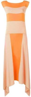 Loewe striped knit silk dress