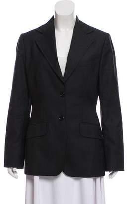 Dolce & Gabbana Wool-Cashmere Notch-Lapel Blazer
