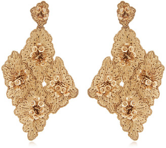 Johanna Ortiz M'O Exclusive Floral Cluster Earrings