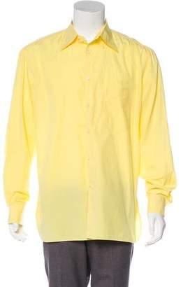 Borrelli Woven Button-Up Shirt