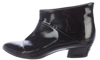 Marc JacobsMarc Jacobs Patent Leather Ankle Boots