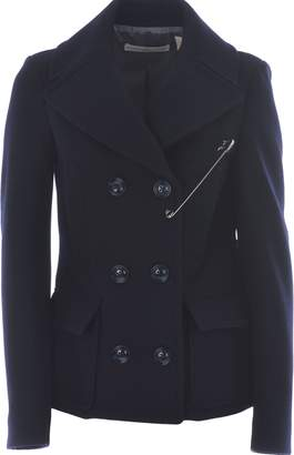Golden Goose Safety Pin Embellished Pea Coat
