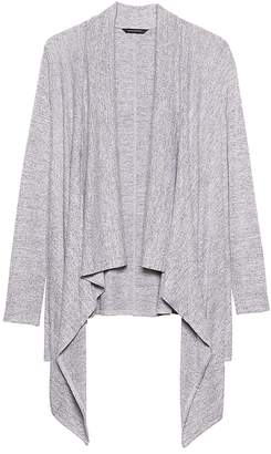 Banana Republic Luxespun Waterfall Lightweight Cardigan