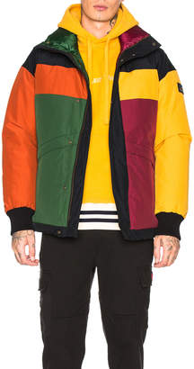 Leon Aime Dore x Woolworth Color Blocked Down Jacket