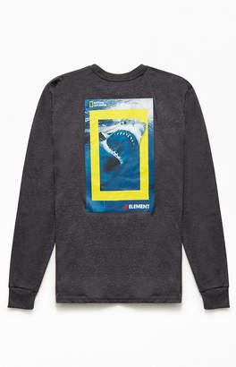 Element Nat Geo Shark Long Sleeve T-Shirt