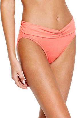 Seafolly Ruched Fold-Over Bikini Bottoms