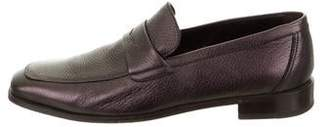 Bruno Magli Leather Iridescent Loafers