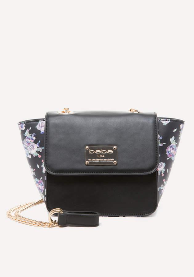 Winter Rose Crossbody Bag