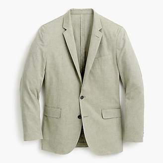 J.Crew Ludlow Slim-fit unstructured suit jacket in cotton-linen