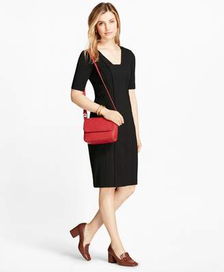 Brooks Brothers Ponte Sheath Dress