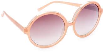No.21 No. 21 Oversized Round Sunglasses