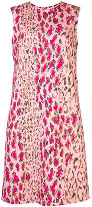 Carolina Herrera leopard print dress