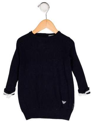 Giorgio Armani Baby Girls' Knit Sweater Dress