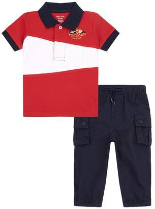 Polo Ralph Lauren Polo Shirt and Trousers Set
