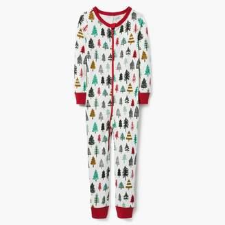 Gymboree Christmas Trees 1-Piece Pajamas