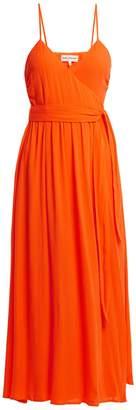 Mara Hoffman Alma crepon wrap dress